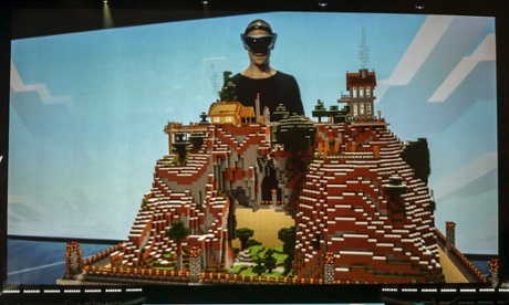 Minecraft on Hololens: the future of gaming is right in front of your eyes