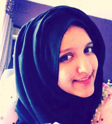 Aqsa Mahmood, 20, from Scotland, who has travelled to Syria to join Isis