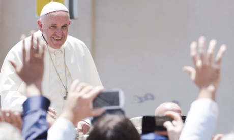 Spanish victims of thalidomide meet Pope Francis