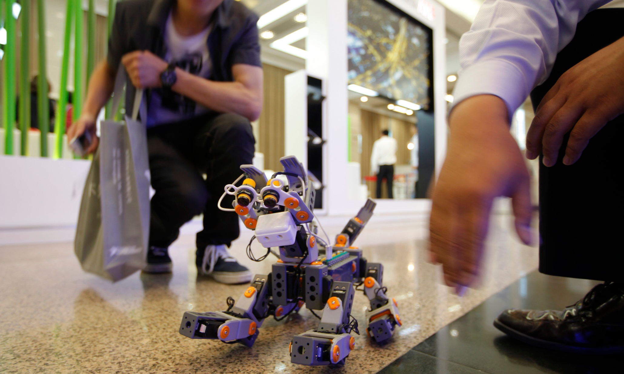 Apple co-founder Steve Wozniak says humans will be robots' pets