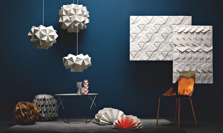 Into the fold: origami-inspired interiors