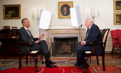 David Attenborough and Barack Obama face-to-face in TV interview