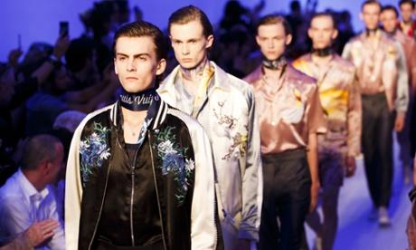 Paris fashion week has shown us the next menswear trend: pyjamas