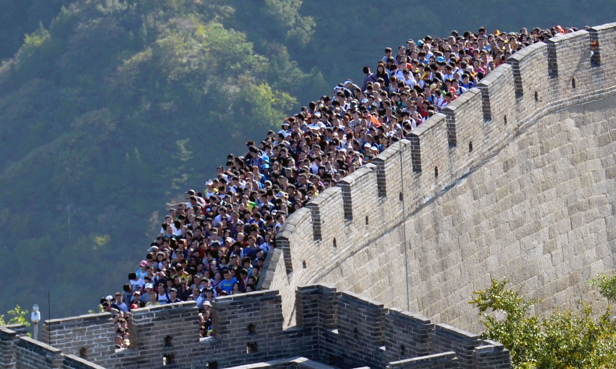 descriptive essay on great wall of china