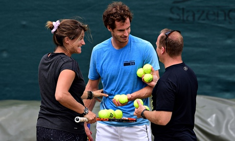 Andy Murray faces Mr and Mrs K's plan A – 'do something good'