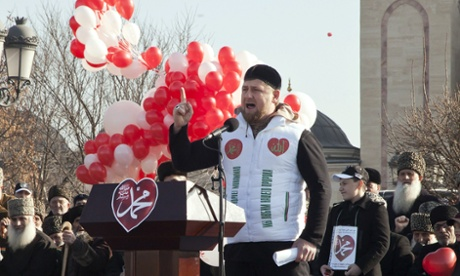 Chechen leader's show of strength muddies loyalty to Putin