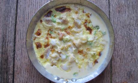 River Cottage's omelette