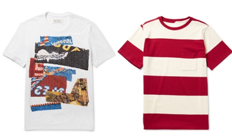 Men's T-shirts: the wish list – in pictures