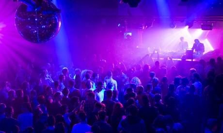 A party at Razzmatazz, Barcelona's biggest club.