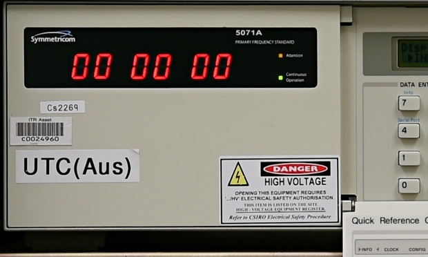 Leap Second Is Added To Atomic Clock In Sydney Video