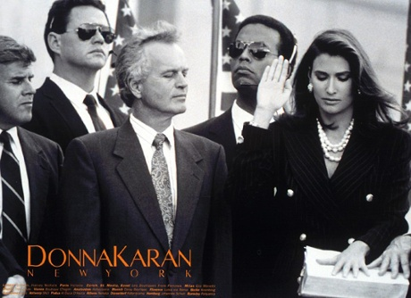 Donna Karan's female persuasion advert in 1992