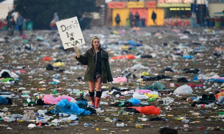 Glastonbury's rubbish: going against the green ethos ruins it for everyone