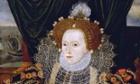 Portrait of Queen Elizabeth I of England