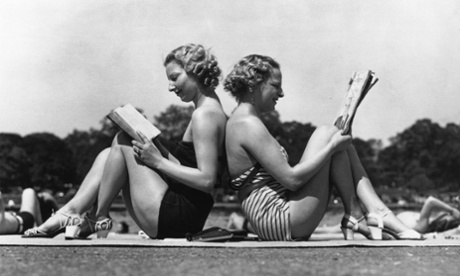 Chasing a tan in the New Bronze Age: fashion archive, 6 July 1935