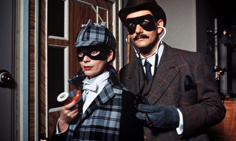 Under deep cover .. one of the previous TV incarnations of Tommy and Tuppence. Photograph: ITV/Rex