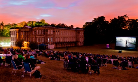 Summer Nights Outdoor Film Festival at Calke Abbey in Derbyshire