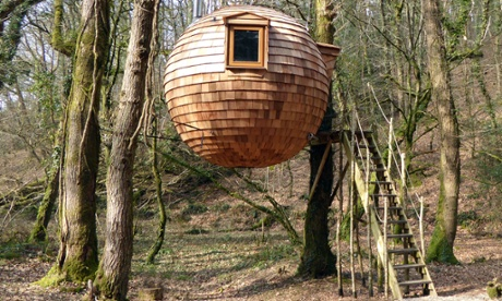 Lost Meadow Treepod, Cornwall
