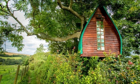 Tree Sparrow House, Cornwall
