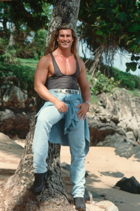 Fabio in Hawaii in 1993