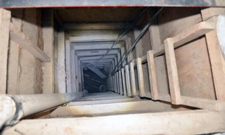 'El Chapo' escape: new tunnel photos revealed as Mexico offers big reward