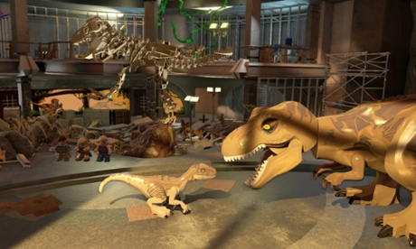 Lego Jurassic World review – enjoyable if predictable family fun