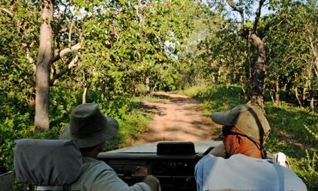 On safari in the Northern Territory.