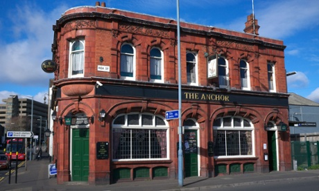 The Anchor public house, Rea St, Bradford Street, Digbeth, Birmingham
