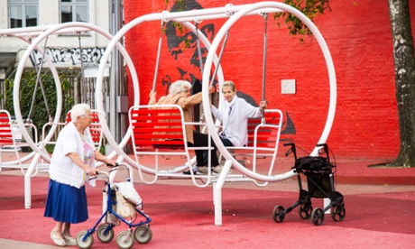 The rise of urban playgrounds for the elderly