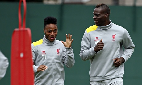Liverpool's Mario Balotelli abused after supporting Raheem Sterling on Twitter