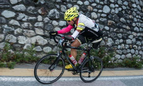 Find Alpine road cycling tough? Imagine doing it with one leg