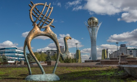 Few of Astana's buildings seem to have been designed with practicality in mind.