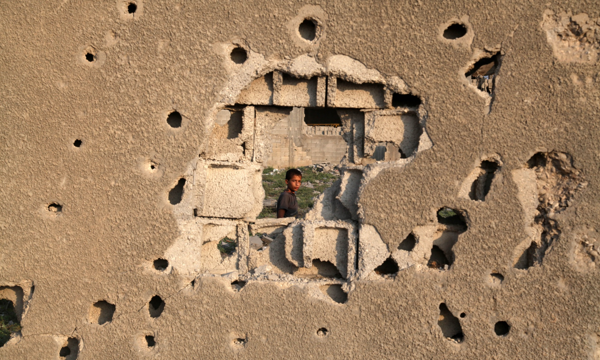 A year after the war, Gaza grieves for its child casualties