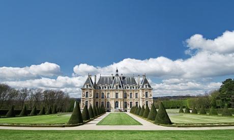 Sceaux. The castle, built for Jean-Baptiste Colbert in 1670. Paris.