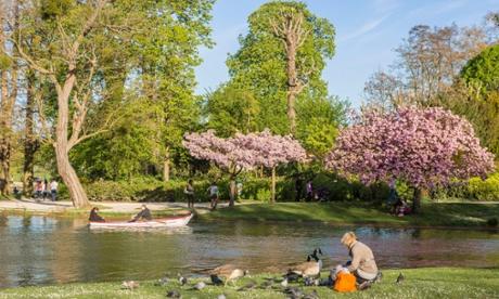 Bois de Vincennes Daumesnil lake, Paris