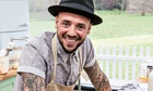 Stu the hipster, one of this year's Bake Off hopefuls.