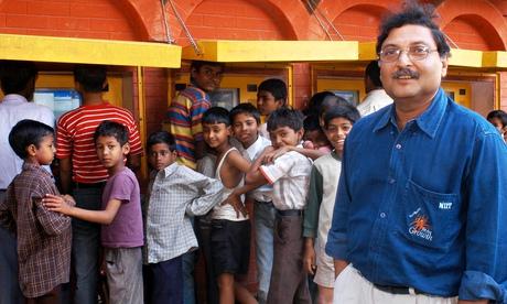Do children learn best with minimal teaching? Sugata Mitra thinks so