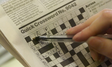 get down with the guardian s crossword  munity