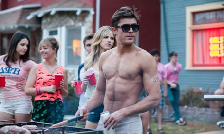 Dwayne Johnson and Zac Efron muscle in on Baywatch movie