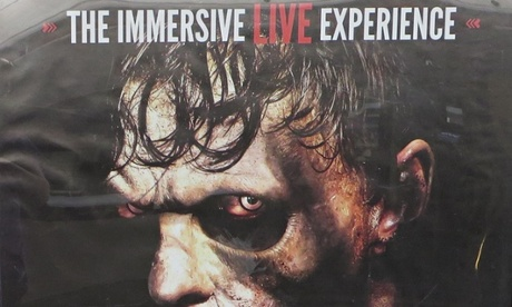 'Distasteful' zombie ads banned from London Underground