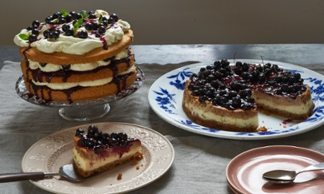 A zingy blackberry cheesecake recipe