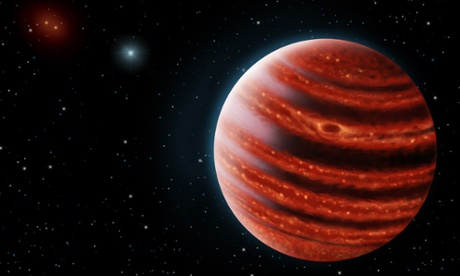Jupiter assembling: planet 96 light years away hints at how gas giants form