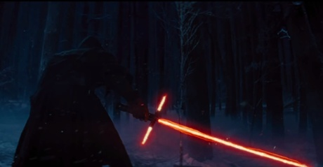 Seeing red … The controversial new lightsaber