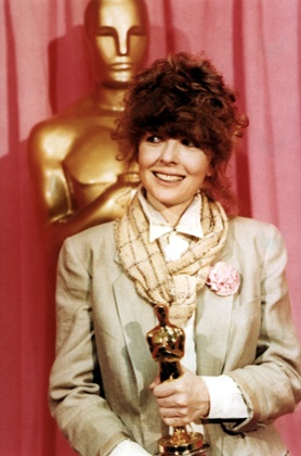 Diane Keaton wins her Oscar for 1977's Annie Hall.