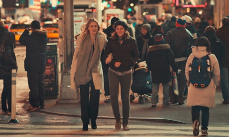 Greta Gerwig as Brooke with Lola Kirke in Mistress America.
