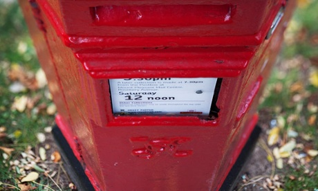 Royal Mail sees red over spate of post box thefts