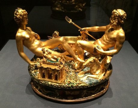Cellini's golden salt cellar.