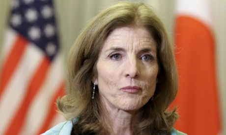 Caroline Kennedy, US ambassador to Japan, also used personal email