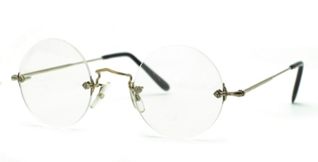 Savile Row 18K Diaflex Round glasses, £266.