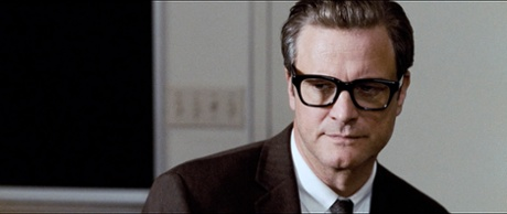 Colin Firth as George in A Single Man.