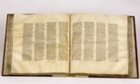 The Codex Sinaiticus, which has only left the British Library building once before, during the second world war